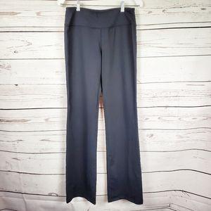 Yogipace black yoga boot cut pants Women's M